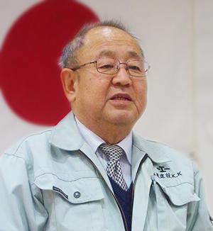 福滝建設株式会社 代表取締役 福瀧 一